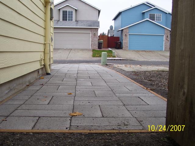 Paver Walkways Big Jim S Home Repair